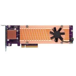 Karta rozszerzeń do serwera NAS QNAP QM2-4P-384 PCI-E x8 Gen 3 4x NVMe M.2 2280 LP