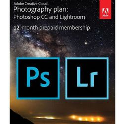 Adobe Plan Fotograficzny Photoshop CC + Lightroom CC