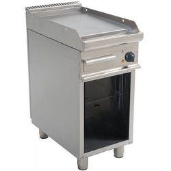 Grill elektryczny | gładki | 395x530mm | 400V / 5,4 kW