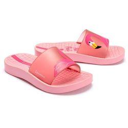 IPANEMA 26325 URBAN SLIDE KIDS 02843 light pink, klapki dziecięce, rozmiay: 28-36 - Różowy