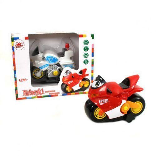 Motory dla dzieci, BRIMAREX Motocykl z funkcjami