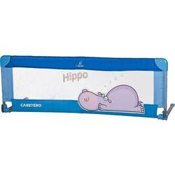 Bariera ochronna CARETERO do łóżka Safari Hippo niebieski + DARMOWY TRANSPORT!