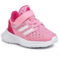 Obuwie sportowe dziecięce, Buty adidas - RapidaRun El I EF9281 Light Pink/Cloud White/Real Magenta