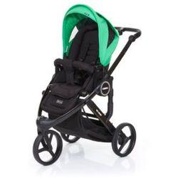 ABC DESIGN Wózek dziecięcy Cobra plus black-grass, stelaż black / siedzisko black