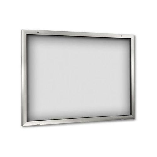 Pozostałe artykuły reklamowe, Gablota do zastosowania wewnątrz i na zewnątrz budynku,otwieranie drzwi o 180° w dół
