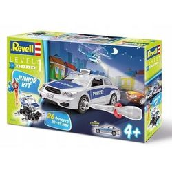 Revell Junior Kit Police car Model do sklejania