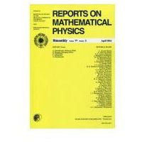 Gazety i czasopisma, Reports on Mathematical Physics 77/2016 Pergamon (opr. miękka)