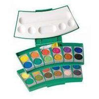 Farbki, Farba wodna Procolor 735 24 kolory zieleń