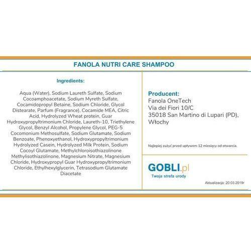 Mycie włosów, Fanola Nutri Care Restructuring | Nawilżający szampon do włosów suchych i łamliwych 350ml