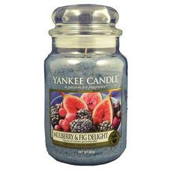 Yankee Candle Mulber&Fig Delight 623g DUŻA ŚWIECA SZYBKA WYSYŁKA infolinia: 690-80-80-88