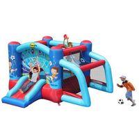 Zabawki dmuchane, Dmuchany plac zabaw - Futbolowy Zamek - Happy Hop