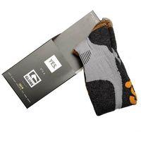 Odzież do sportów zimowych, skarpetki GLOBE - Yes/Globe Pow Pow Sock Grey/Orange (GRYORG) rozmiar: S/M
