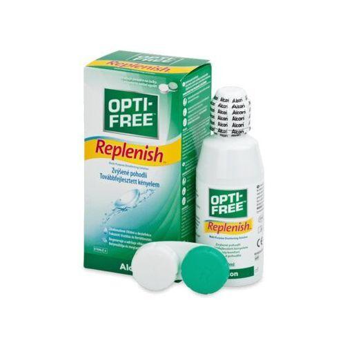 Płyny pielęgnacyjne do soczewek, Płyn OPTI-FREE RepleniSH 120 ml