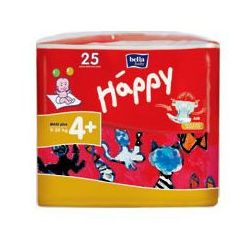 Pieluszki Bella Baby Happy - Maxi Plus (4+) - 25szt.