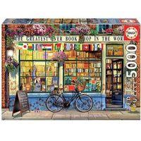 Puzzle, Puzzle 5000 Najlepsza księgarnia na świecie G3