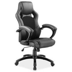Fotel sportowy Signal Q-107 czarny - fotel dla gracza - gamingowy DOSTAWA GRATIS Napisz otrzymasz 50 zł rabatu