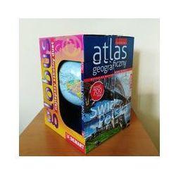 Szkolny atlas geograficzny z globusem. Darmowy odbiór w niemal 100 księgarniach!