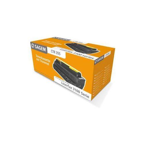 Akcesoria do faksów, Sagem toner Black CTR-355, CTR355, 252920319