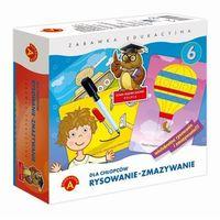 Pozostałe zabawki edukacyjne, Zabawka ALEXANDER Rysowanie-Zmazywanie Dla Chłopców