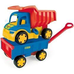Gigant Truck Wywrotka z Przyczepą- WADER 65100