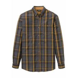 Koszula z długim rękawem Regular Fit bonprix szary łupkowy