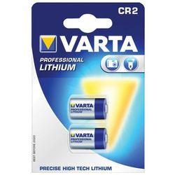 Varta Bateria Professional CR 2, 2 sztuki (06206301402) Darmowy odbiór w 21 miastach!