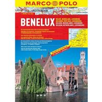 Mapy i atlasy turystyczne, Benelux. Atlas Drogowy (opr. miękka)
