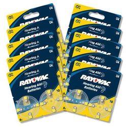Rayovac baterie do aparatu słuchowego typ 10 (80 szt.) - produkt w magazynie - szybka wysyłka!