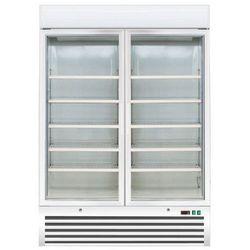 Szafa mroźnicza wentylowana 2-drzwiowa przeszklona   960L   -18° do -24°C   1370x720x(H)1990 mm