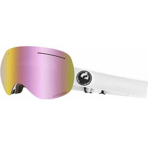 Kaski i gogle, gogle snowboardowe DRAGON - Dr X1 Three White Llpinkion+Lldksmk (100) rozmiar: OS