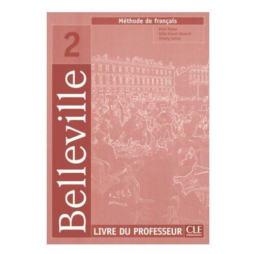 Książki do nauki języka, Belleville 2 professeur (opr. miękka)