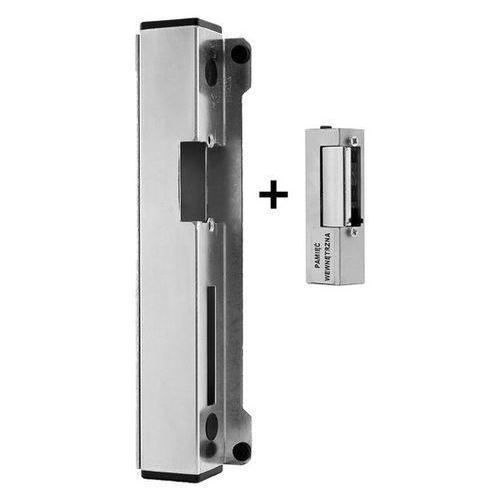 Przęsła i elementy ogrodzenia, 63.340.31 elektrozaczep do furtki z blokadą i pamięcią z kasetą H280
