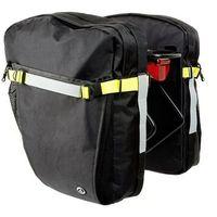 Sakwy, torby i plecaki rowerowe, Sakwa na bagażnik AUTHOR TRAMP czarna