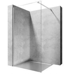 Rea Aero ścianka prysznicowa 80 cm stała szkło przezroczyste REA-K7552