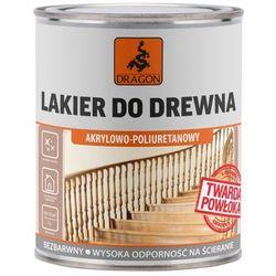 Lakier poliuretanowy do drewna Dragon 0,75 l