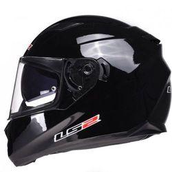 Kask motocyklowy LS2 FF320 STREAM SOLID BLACK