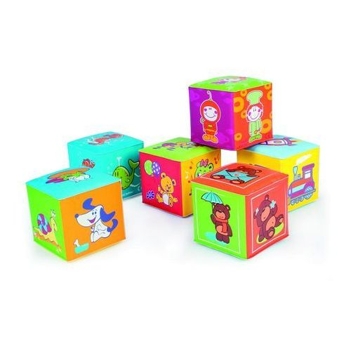 Zabawki do kąpieli, Canpol Kostka edukacyjna miękka 6 szt. Oferta ważna tylko do 2019-11-05