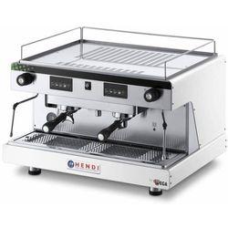 Hendi Ekspres do kawy kolbowy 2-grupowy Top Line by Wega | elektroniczny | biały | 3,7 kW - kod Product ID