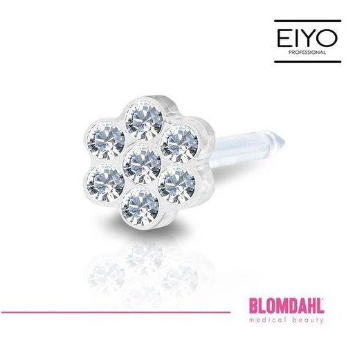 Akcesoria do kolczykowania, Kolczyk do przekłuwania uszu Blomdahl - Daisy Crystal 5 mm