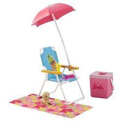 Barbie. Akcesoria wypoczynkowe Zestaw plażowy
