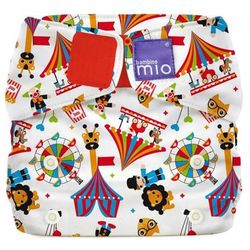 Pieluszka wielorazowa AIO MioSolo BAMBINO MIO One Size 4-18 kg, circus time - circus time