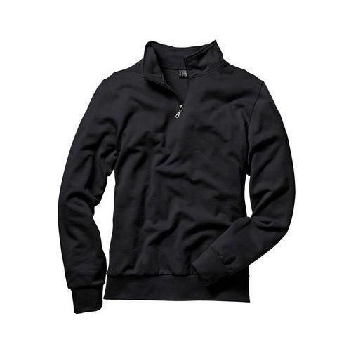Pozostała odzież sportowa, Bluza ze stójką bonprix czarny