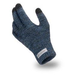 Rękawiczki męskie PaMaMi - Granatowa mulina - Granatowa mulina