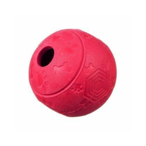 Piłki dla dzieci, Piłka kauczukowa na przysmaki M - red