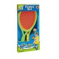 Pozostałe zabawki, Zestaw do tenisa z akcesoriami