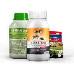 LAST BLOOD oprysk na kleszcze, komary, muchy 250ml + Bagosel 30ml i utrwalacz.