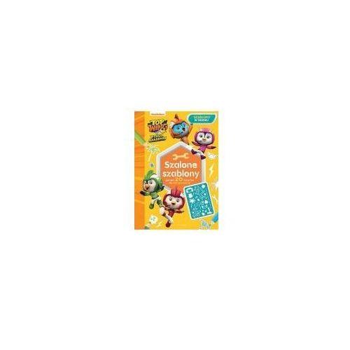Książki dla dzieci, Top Wing. Ptasia Akademia. Szalone szablony (opr. miękka)