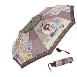 Parasolka automatyczna Anekke brązowa