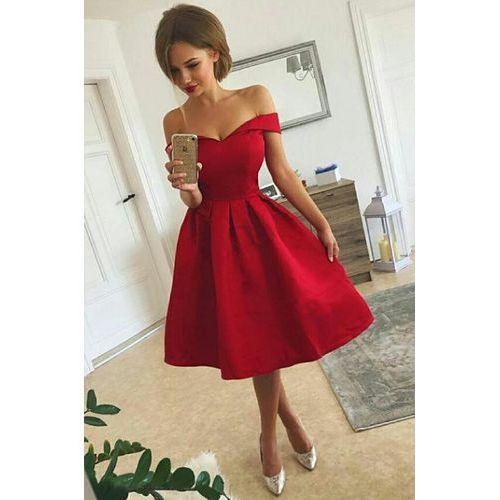 Suknie i sukienki, Sukienka KANIRA RED