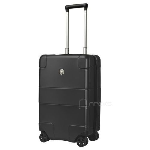 Torby i walizki, Victorinox Lexicon Hardside mała walizka kabinowa 23/55 cm / czarna - Black ZAPISZ SIĘ DO NASZEGO NEWSLETTERA, A OTRZYMASZ VOUCHER Z 15% ZNIŻKĄ